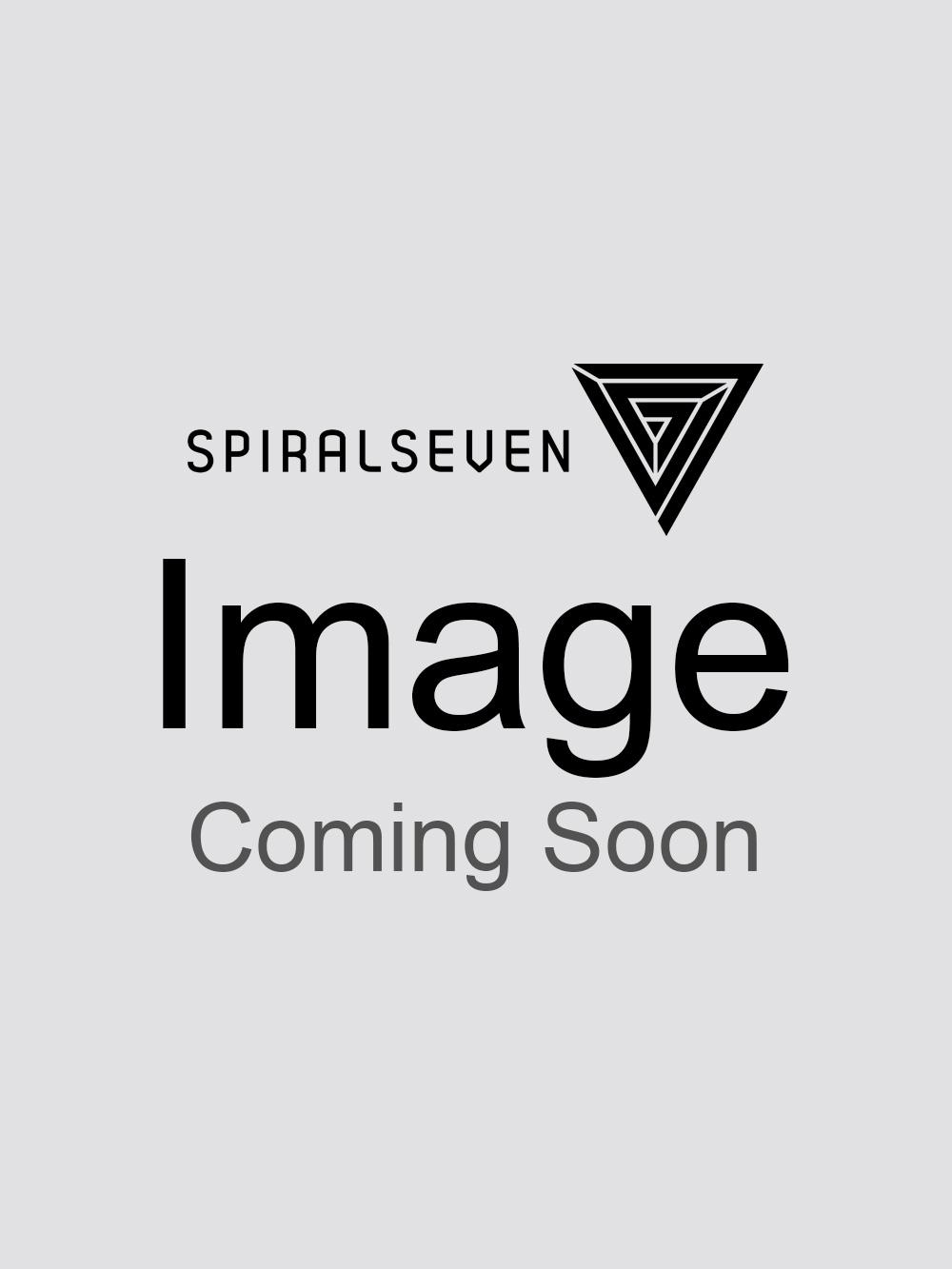 Sik Silk Retro Stripe Curved Hem T-Shirt  Teal
