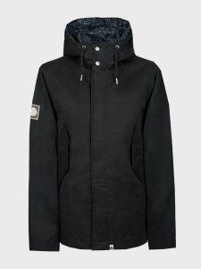 Pretty Green Mens Cotton Zip Up Hooded Jacket - Black