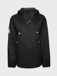 Pretty Green Cotton Overhead Jacket - Black