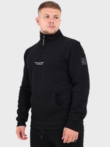 Marshall Artist Siren Half Zip Sweatshirt - Black