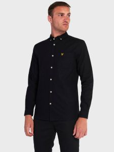 Lyle & Scott Light Weight Oxford Shirt - Jet Black