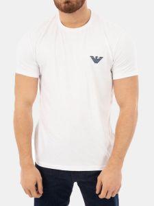 Emporio Armani Back Logo T-Shirt - White