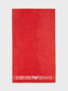 Emporio Armani Beach Towel - Red