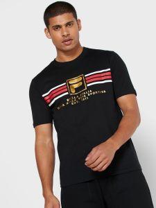 Fila Benz F-Box Graphic T-Shirt - Black