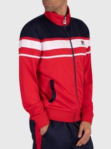 Fila Gordon Colour Block Track Jacket - Red