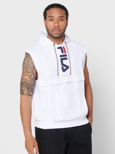 Fila Soul Cargo Vest With Hood - White