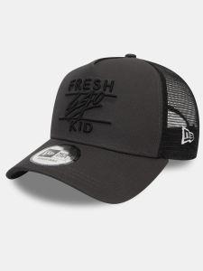 Fresh Ego Kid New Era Mesh Trucker Cap - Dark Grey