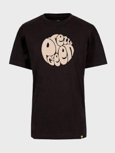 Pretty Green Gillespie Logo Print T-Shirt - Black