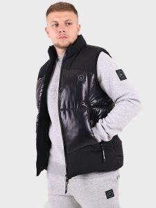 Marshall Artist Kita Bubble Vest Gilet - Black