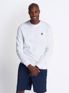Lyle & Scott Crew Neck Sweatshirt - White