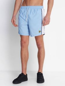 Lyle & Scott Side Panel Swim Short - Pool Blue