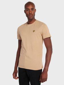 Lyle & Scott Plain T-Shirt - Sand Storm