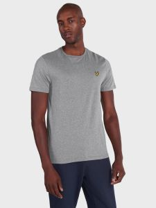 Lyle & Scott Plain T-Shirt - Mid Grey Marl