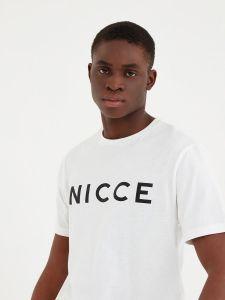Nicce Mens Original Logo T-Shirt - White
