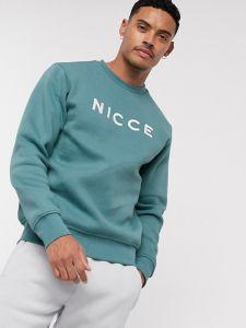 Nicce Original Logo Mens Sweatshirt - Sterling Blue