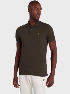 Lyle & Scott Plain Polo Shirt - Trek Green