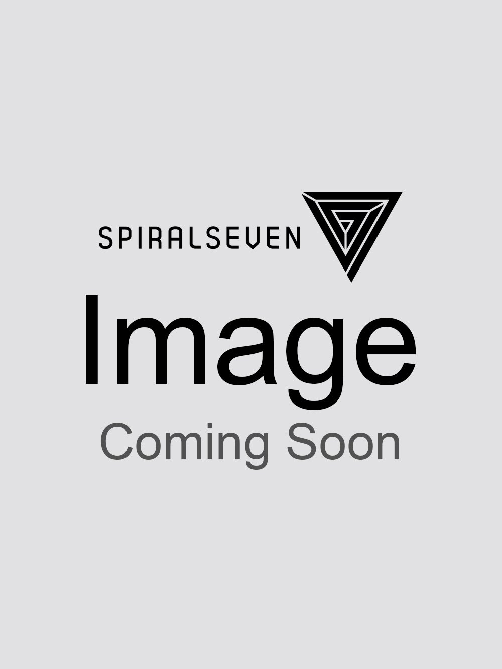 Sik Silk Mens Flannel Check Grandad Shirt - Grey/Red