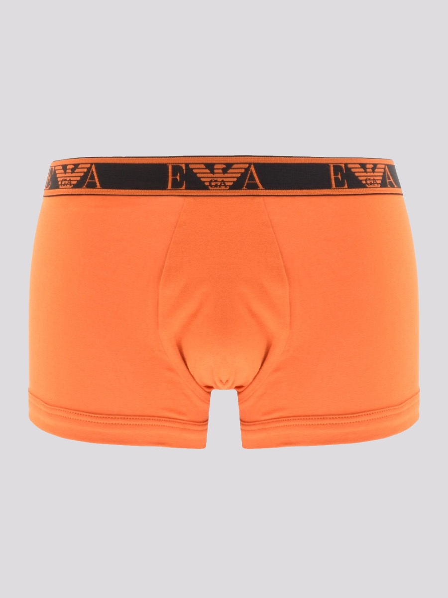 wholesale outlet cute exclusive range Pack Black Boxers Emporio Emporio Armani Orange 3 - Mens ...